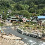岩手県岩泉町で去年の台風10号の被災地の見学会を開催しました(2017年9月16日)