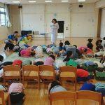 9月1日防災の日 調布市の保育園に行ってきました!!